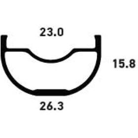 NoTubes ZTR Crest MK3 Rim 29 inches black